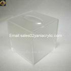 square acrylic tissue box