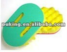 sponge scourer/sponge cloth/polyurethane foam cleaning sets