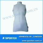 2012 custom white nylon/ spandex baselayer vest seleeveless t shirt