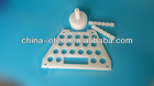 corrosion resistant pure PVDF plastic cap