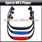 Sport MP3 Player with FM Radio TF Card Slot, YMP105A