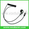 Mono earphone for two way radio speaker mic