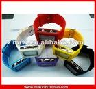 Wholesale Colorful LED light silicone led watch TG1143
