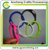 Screen printing UK Flag Olympic games Silicone rubber wristband ion sport watches