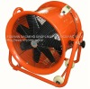 portable adjustable axial-flow ventilator with wheel