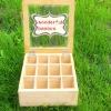 Eo-friendly bamboo tea box