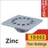 FD002 zinc cast iron floor drain cover, drain cover,drainer, floor drainer, floor trap,drain trap,drain cover