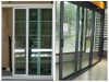 Aluminum doors and doors,aluminum frame glass double entry door,frosted glass exterior door