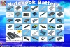 notebook battery /notebook battery pack / laptop battery pack for battery,battery packs,battery for laptop,battery for notebook,