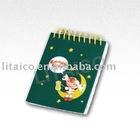PVC cover mini notebook