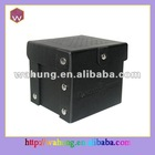 carboard black pu gift box