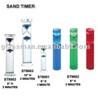 (sand glass, hourglass) Sand timer