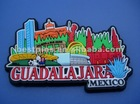 3D Guadalajara Mexico Medium Pvc Fridge Magnet