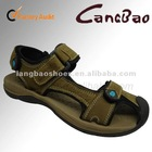 Hot Sale! Genuine Leather Youth Fashion Sandal Shoes For Mens