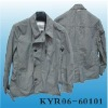 MEN'S WOVEN LONG SPRING COAT