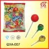 16g Halal Fruit Ball Shape Bubble Gum Lollipop