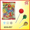 16g Halal Fruit Ball Shape Bubble Gum Lollipop