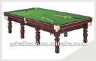 newest design wood billiar &snooker table(Maikeku)