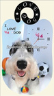 3d digital large wall clocks of dog