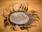 top quality 100% human hair toupee/topper/hair systems