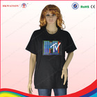 HKWATSON led sound activated t shirts LED