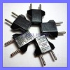 220V AC Plug Jack EU to USA Adapter EU Converter