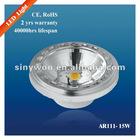 Fin Type Heat Sink AR111 LED light 15W