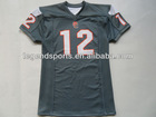 002 FC Grey American Football Mesh Jersey