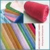 solid color microfiber terry fabric