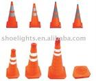 retractable reflective traffic cone,led light traffic cone