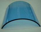 Heat absorbing glasses Blue glass filter for Medical lamp OT light
