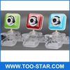Free Driver Square Webcam for Notbook / PC with Crystal Clip / USB 2.0
