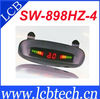 Promotional price !!!4 Sensors Car Parking System LED Display Indicator Sound Alarm Car Reversing Sensors SW-898HZ-4