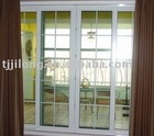 top hung glass sliding door