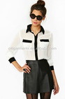 Hot Selling Fashion Woman's Tux Pocket Blouse / top
