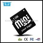 Full Capacity Mobile Phone 1GB Mini SD Memory Card