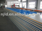 Rigid polyurethane foam colored steel heat retaining panel