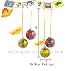 Creative Christmas Gift Christmas Balls with a Mini Remote Control Car Inside