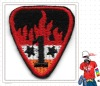 Custom embroidered emblem embroidery design badges