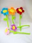 Plush flower ( curtain buckle holder)