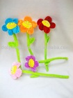 Plush flower ( curtain buckle holder)