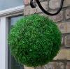 Dark green Artificial 38cm Tea Leaf grass Ball ---- Largest factory