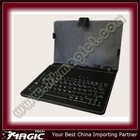 Waterproof computer keyboard with leather case - Support Multilanguage