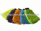 Microfiber chenille cleaning gloves