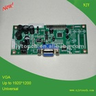LVDS to VGA LCD controller board Universal