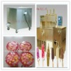automatic machine for different color frost ice ball and ice cream making
