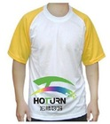 blank polyester T-shirt for sublimation