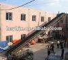 Inclining belt conveyer used in mineral processing/sand production line