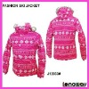 LADIES MID-LENGTH WINTER SKI JACKET COAT , WOMENS SKI JACKET