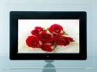 "7"" 7 Inch Digital picture frame color lcd screen slideshow rechargeable"